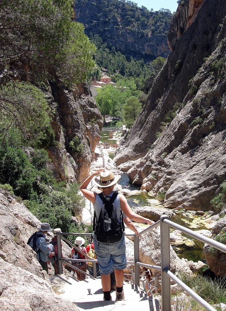 Al fons de la vall, la Fontcalda