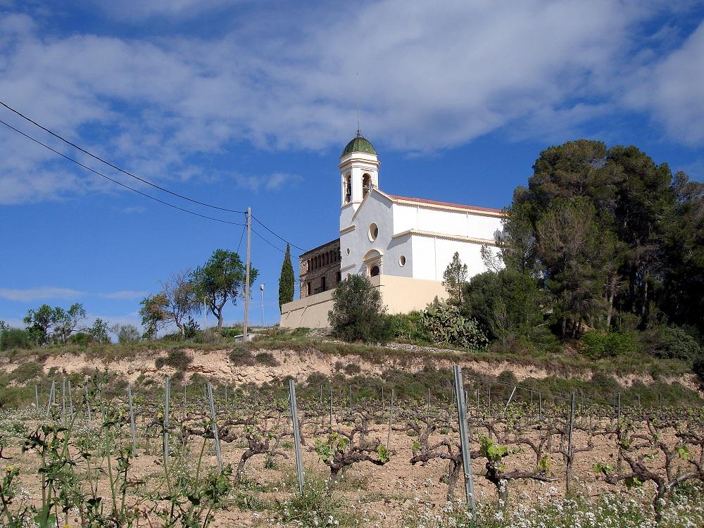 Una de les nombroses esglésies del terme.