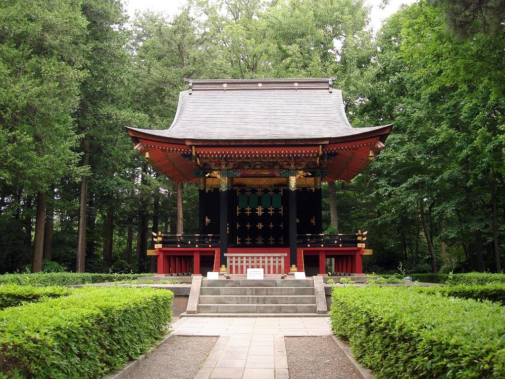 Al mateix museu, mausoleu d'una concubina del governador d'Edo