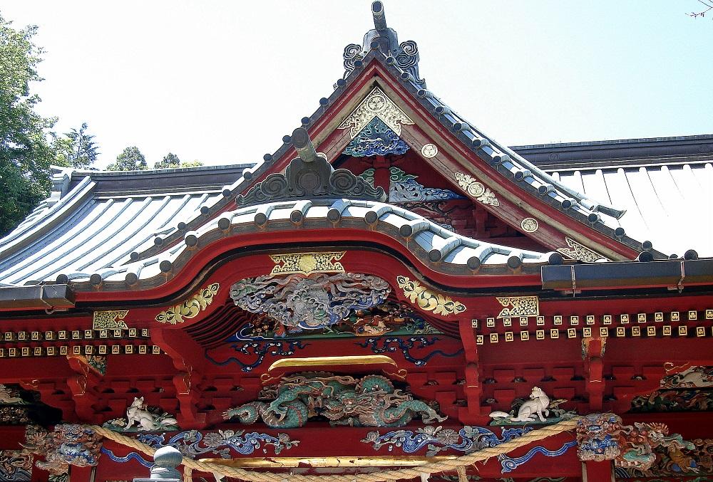 Detall d'un dels temples