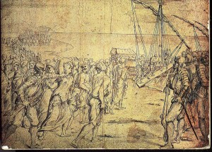 Esbós de l'expulsió dels moriscos (Velàzquez).