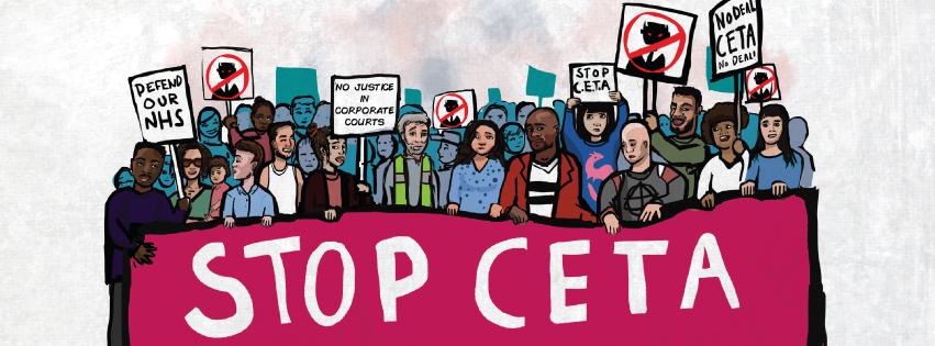 Resultado de imagen de No al CETA