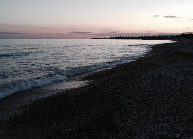 A la voreta del Marjal, ben arran de l'escuma del mar