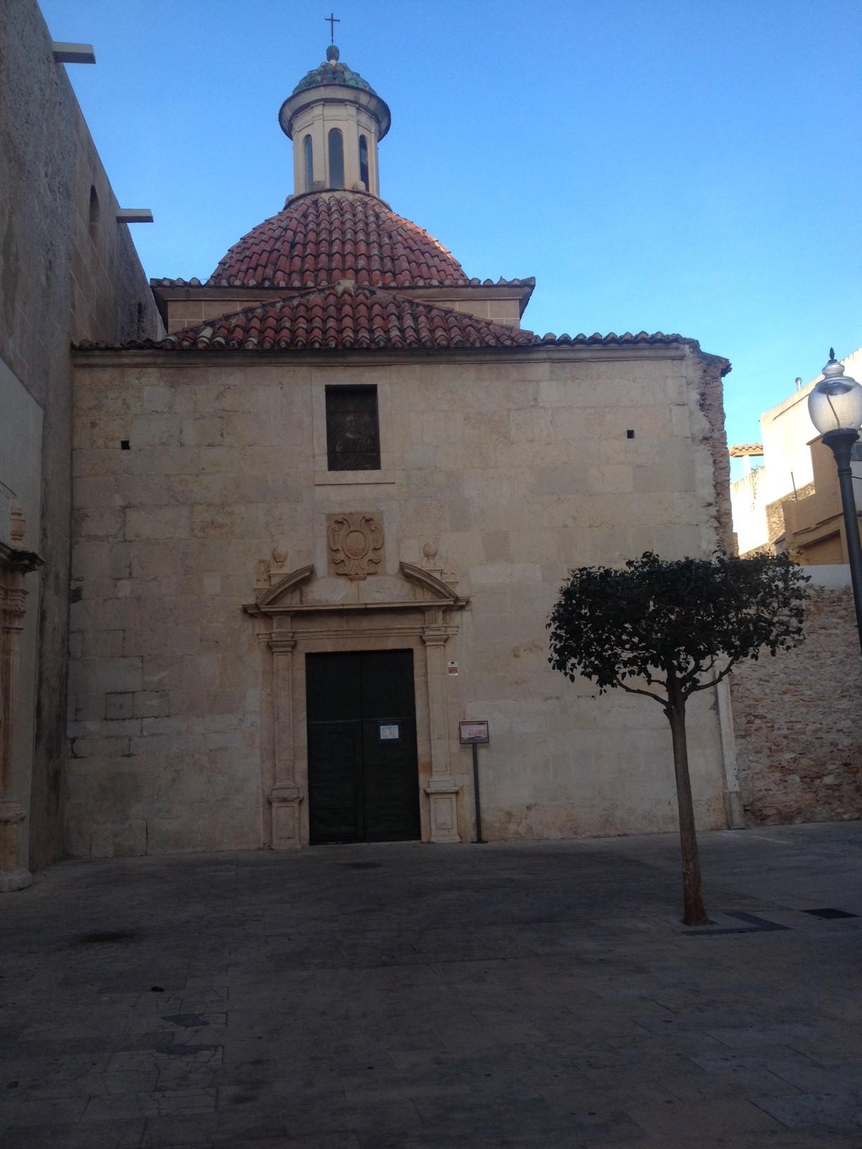 La capella de l'església de la Mare de Déu de l'Assumpció