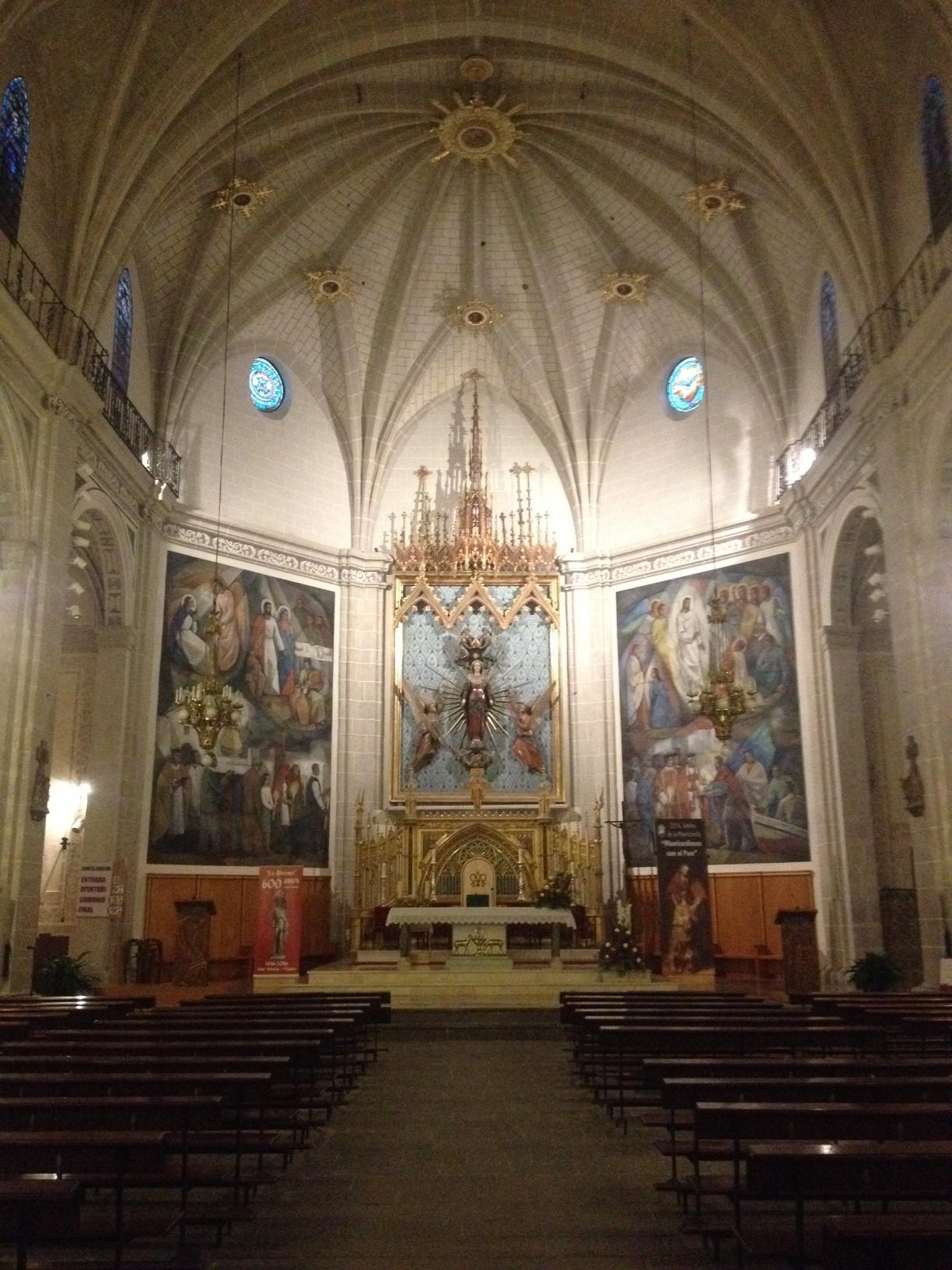 L'església de la Mare de Déu de l'Assumpció