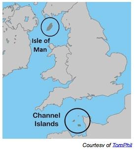 Localització de les tres illes // Wikipedia