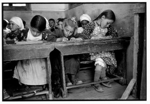 a village school, Olimbos, Karpathos, Greece.1964