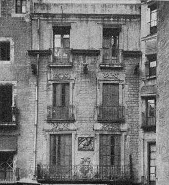 gremi de sabaters, carrer de la corribia 1915