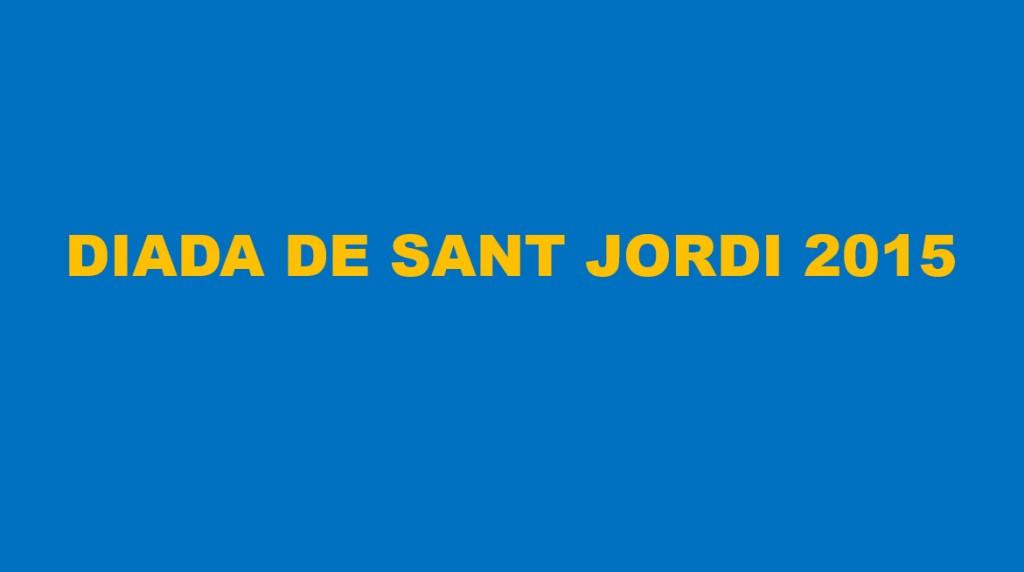 Sant Jordi 2015 -1