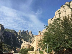 Vista monestir