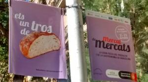 Ets un tros de pa - Campanya dels Mercats de Barcelona (setembre 2016)