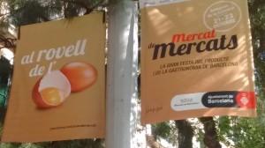El rovell de l'ou - Campanya dels Mercats de Barcelona (setembre 2016)