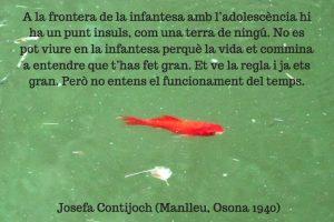 """Josefa Contijoch (Manlleu, Osona 1940), a """"Sense alè"""" (Barcelona: Edicions de 1984, 2012). Amb una imatge de http://fotominima.blogspot.com/"""