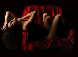 sensualidad y rojo