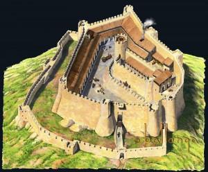 Castell Montsoriu segle XIV