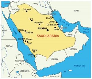 ArabiaSaudi mapa