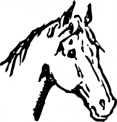 head-outline-silhouette-face-cartoon-horse-heads-horses-automatic-jumping-horsehead-johnny_f