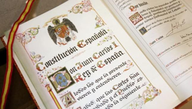 Constitució espanyola