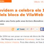 Ens veurem a la festa de +Vilaweb