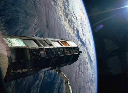 LDEF satellite