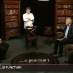 """Captura de pantalla de l'emissió de dijous 14 d'abril del programa de Jurnal TV """"...şi punctum!"""""""