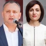 Imatge amb què la periodista Natalia Morari anunciava dijous passat dia 3 el debat amb Sandu i Dodon que tindrà lloc dilluns 7 a TV7.