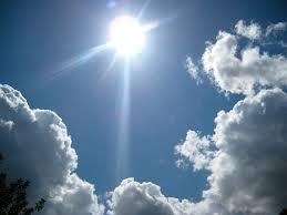 Sol i núvols