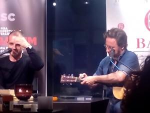 Jordi Llavina i David Carabén