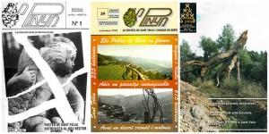 Diferents revistes de La Pinya. Foto: El 9 Nou