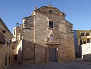 Església de l'Assumpció de Montesa. Hi tenen un capellà que oficia en valencià.