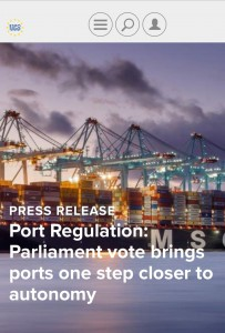 Vot PE reglament ports 2016 ESPO