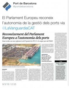 Vot PE reglament ports 2016 La Vanguardia
