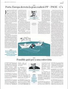 Vot PE reglament ports 2016 article Diari Ara