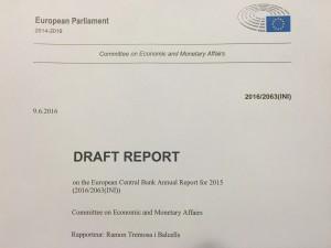 ECB report 2015 RTB
