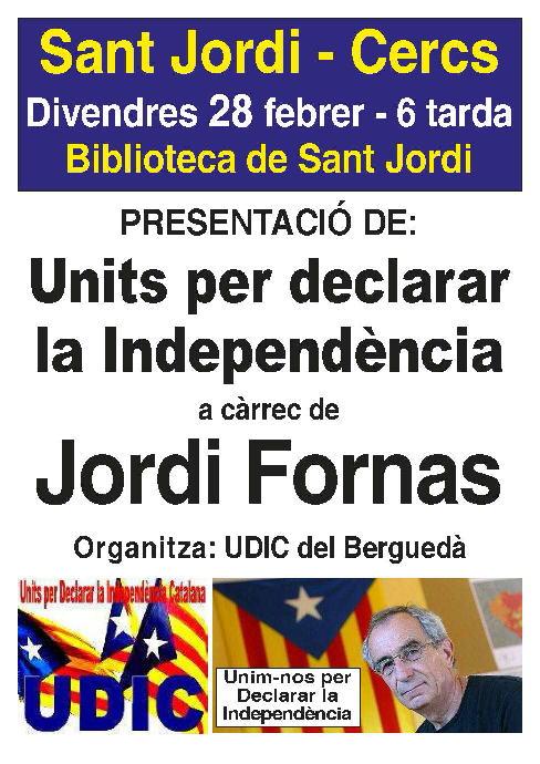 Farem pujar la Declaració d'Independència fins al cel!