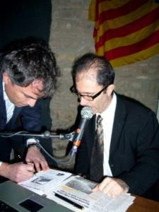 """576. Avui a les 7 a Ràdio Estel darrer programa """"Temps d'Oci"""". Durant molt temps hi ha participat Catalunya Acció."""