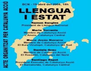 """EA 917. """"Llengua i Estat"""" Tornar la plena sobirania al Poble Català i garantir el futur de la llengua."""