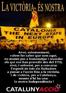 Seurem i parlarem amb un sol interès: Catalunya i la seva llibertat! __ EA 1506