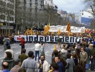 Història d'una pancarta. La manifestació contra la LOAPA del 14 de març de 1982
