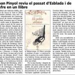 El passat d'Esblada i de Jafre en un llibre