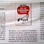 """""""No os indignéis tanto"""", de Manel Fontdevila (Astiberri) a Le Monde Diplomatique"""