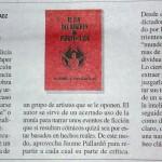"""""""El fin del régimen de Pleksy-Gladz"""", de Jaume Pallardó (Ed. APIV) a Le Monde Diplomatique"""
