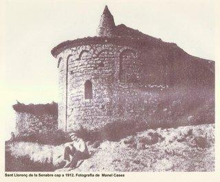 Sant Llorenç de la Senabre en 1912