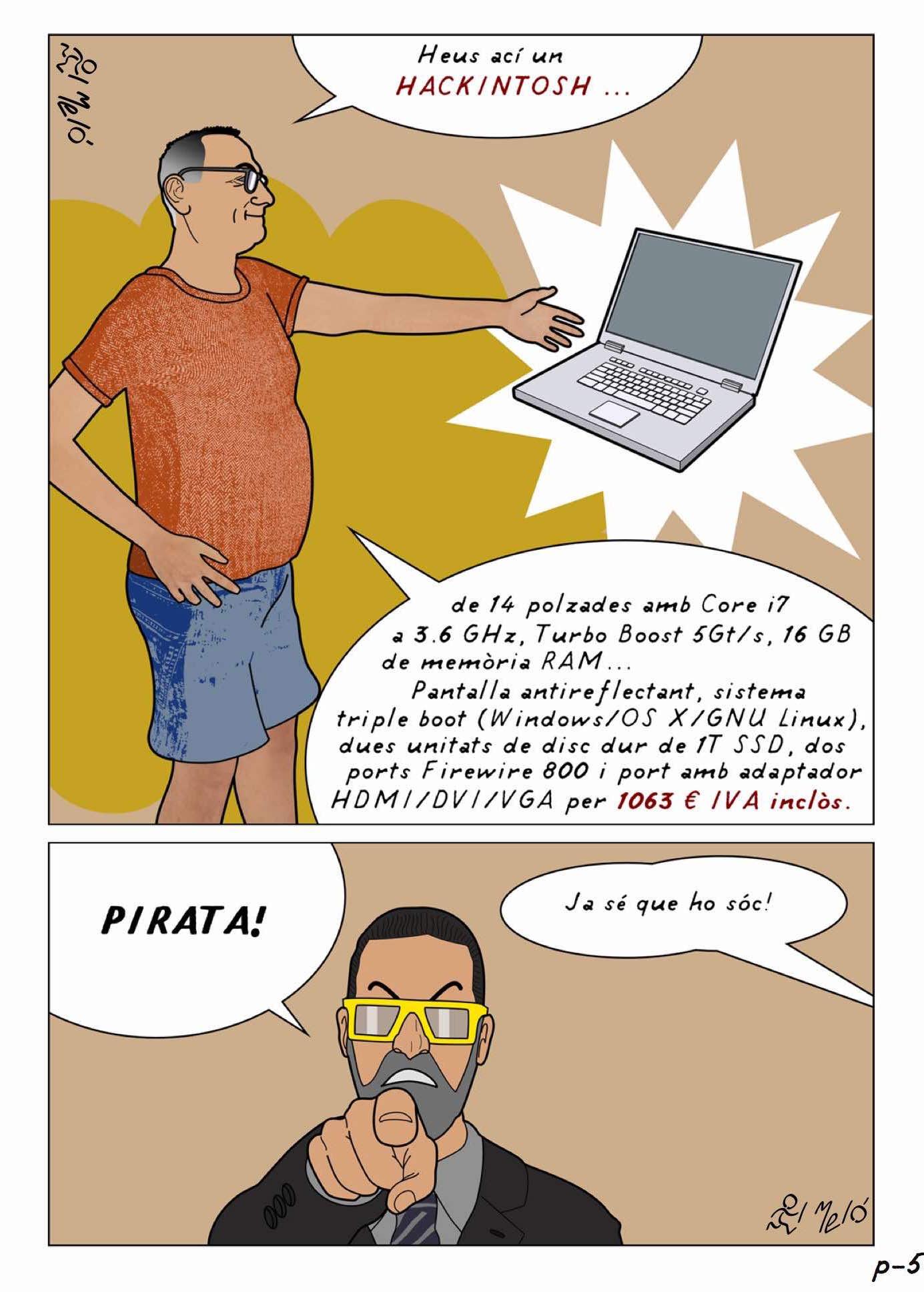 Per què Hackintosh? (5) | Vila-real en vinyetes