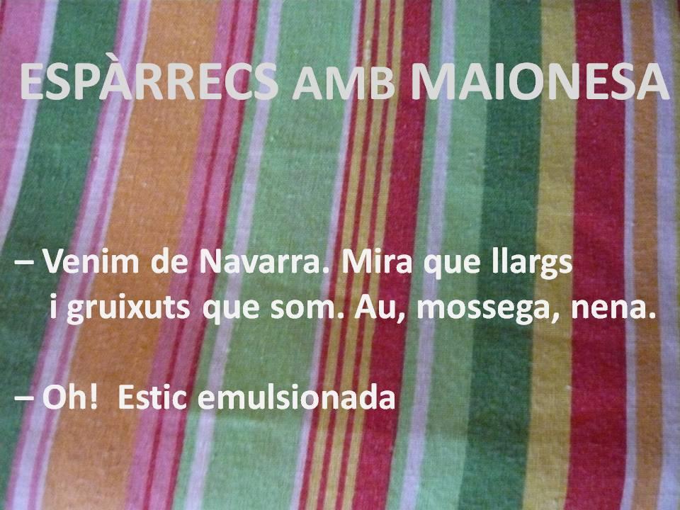 ESPÀRRECS MAIONESA