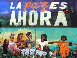 Mural per la Pau a Bogotá