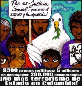 Mural polític dels companys de Prensa Alternativa