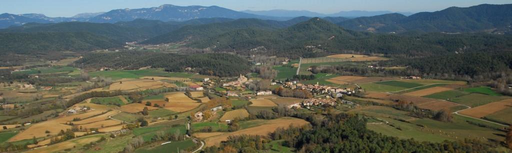 La vall de Mieres, a la Garrotxa