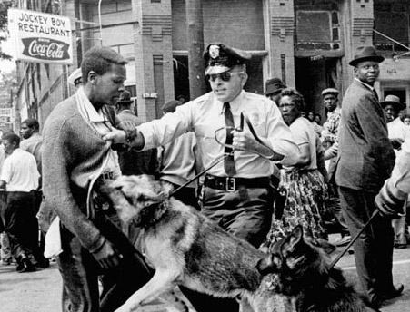 Manifestació a Birmingham, Alabama, 1963