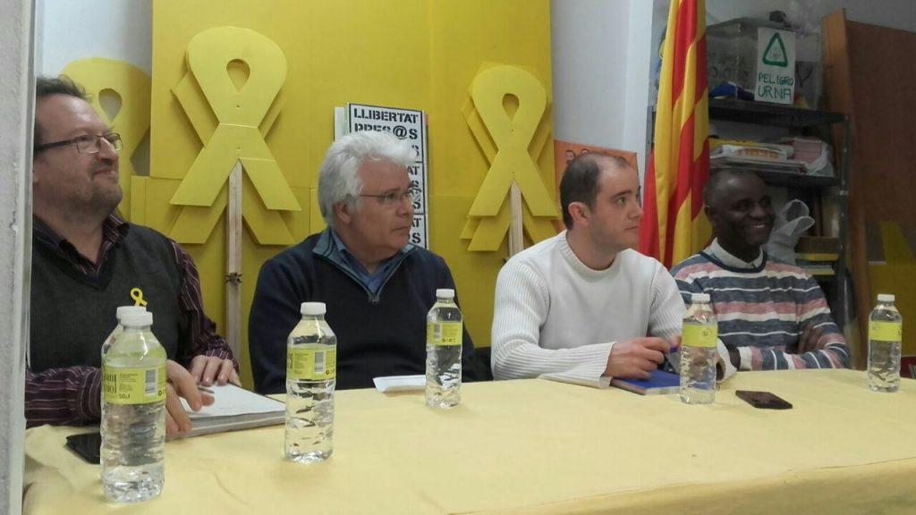 Assemblea d'avals al Secretariat de l'ANC 2018 a Sants-Montjuïc